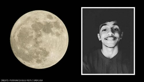 Pune: 16-year-old 'astronomy lover' clicks stunning pic of moon with 55,000 images