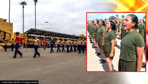 US: 53 women make history after graduating from first-ever co-ed San Diego boot camp