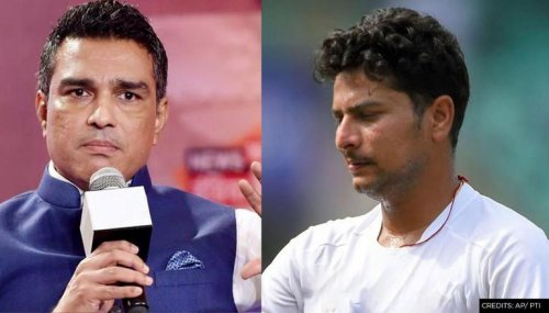 Sanjay Manjrekar mocked by fans for slamming Kuldeep Yadav as he hands debut cap to Rana