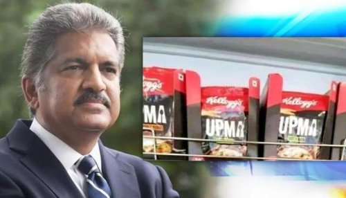 Anand Mahindra's message on Kellogg's Upma meme strikes a chord with netizens