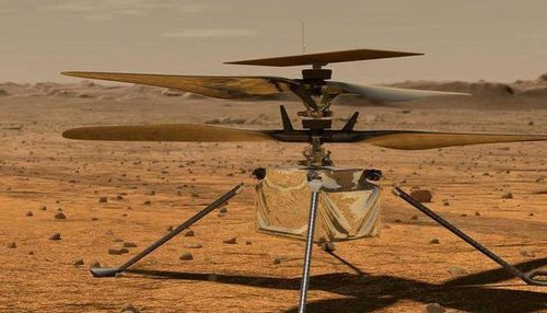 NASA JPL shares sound clip of Ingenuity helicopter taking flight on Mars