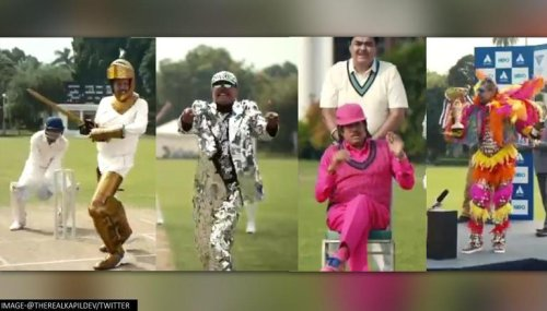 Kapil Dev dresses in quirky outfits, acts like Ranveer Singh in new CRED commercial; Watch