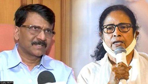 Shiv Sena puts onus of WB post-poll violence on both BJP & TMC; seconds Mamata's 2024 plan