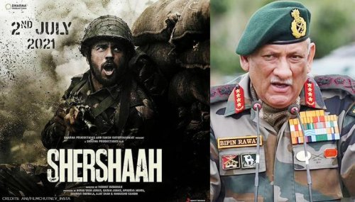 'Shershaah': CDS Bipin Rawat congratulates entire cast; Says 'This is just the beginning'