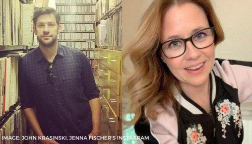 Jenna Fischer appreciates John Krasinski's movie, fans cannot stop gushing over the two