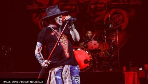 Guns N' Roses vocalist Axl Rose's rare picture surfaces on internet; take a look