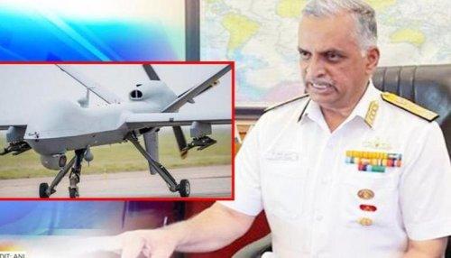 'Predator drones along the Indian Ocean key to monitor potential adversaries': Indian Navy