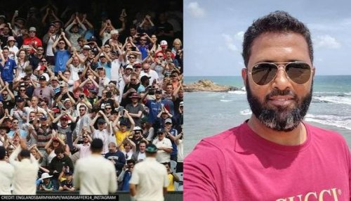 Wasim Jaffer trolls Barmy Army for taking a dig at Virat Kohl with 'Bar mein Army? comment