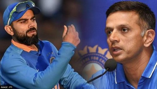 Virat Kohli unaware of Rahul Dravid's appointment as Team India coach; here's what he said