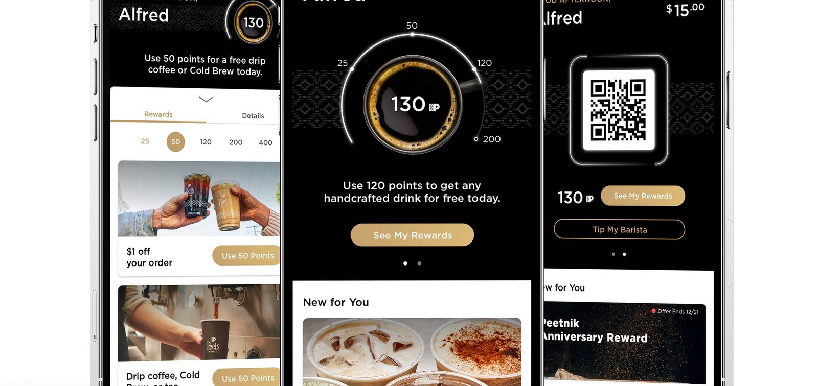 Peet's Coffee adds more incentives to its loyalty program