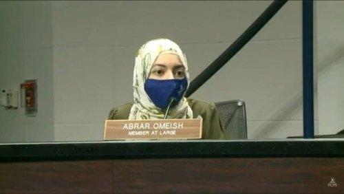 Fairfax County's lone Muslim school board member reflects on uproar over Israel criticism