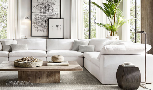 5 Affordable Alternatives and Dupes to RH's Coveted Cloud Couch