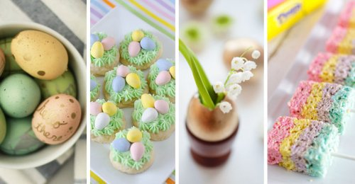 18 Easy Easter Crafts and Desserts for Adults and Kids