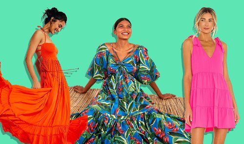 17 Fabulous Dresses to Live Out Your Hot Vax Summer
