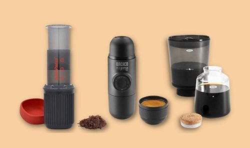9 Portable Coffee Makers for Road Trips, Glamping and Travel The Real Deal by RetailMeNot