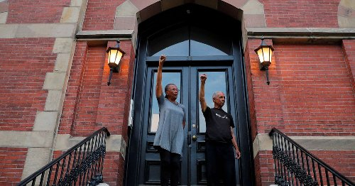 Protest and reflection: A year after the death of George Floyd