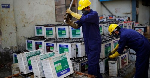 Start-ups aim to change car battery recycling, clean up world's most polluting industry