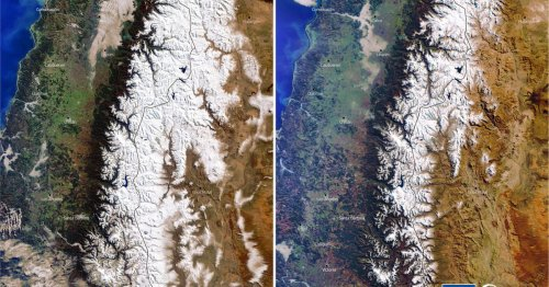 'Mega-drought' in Andes from climate change leaves some peaks without snow