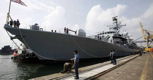 China condemns Britain for Taiwan Strait warship mission