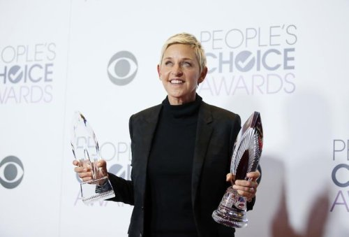 People's Choice disruption laughed off as DeGeneres and Depp win big