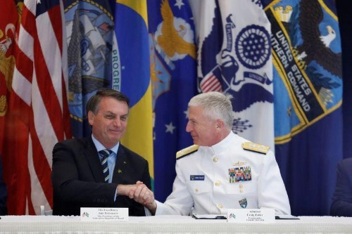 Brazil, U.S. sign agreement to develop defense technology