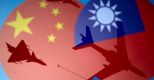 After massed plane incursion near Taiwan, China says must respond to 'collusion'