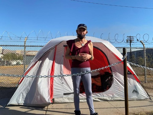 In pandemic America's tent cities, a grim future grows darker
