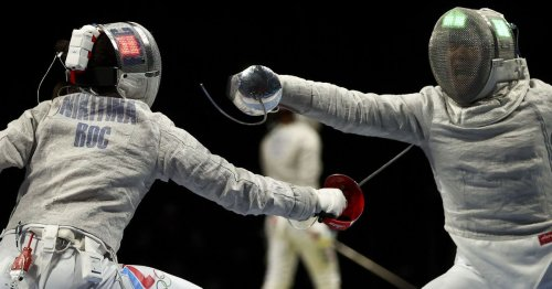 Fencing-Russians win second consecutive gold in women's team sabre