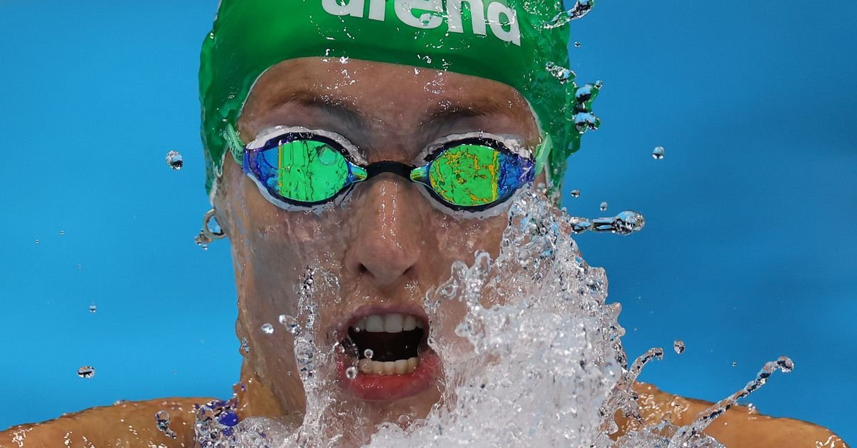 Swimming-Murphy's doping slur darkens mood at the pool; Schoenmaker sets WR to win gold