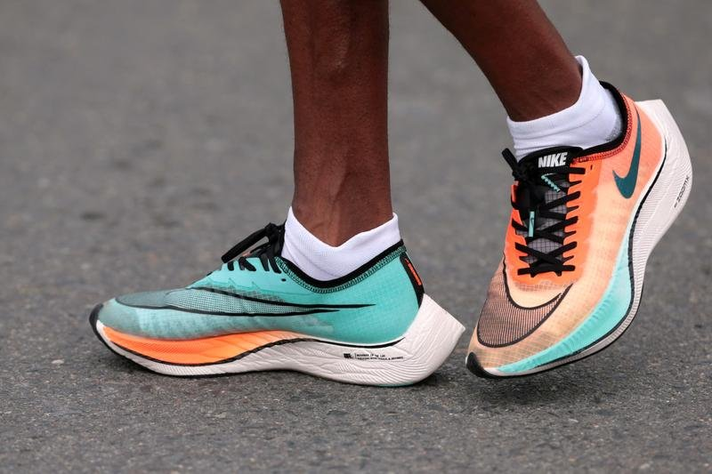 Nike prototype Vaporfly shoe banned but current version going to Olympics