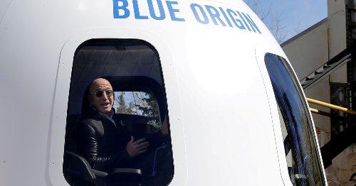 Musk trolls Bezos as space race between world's richest men heats up