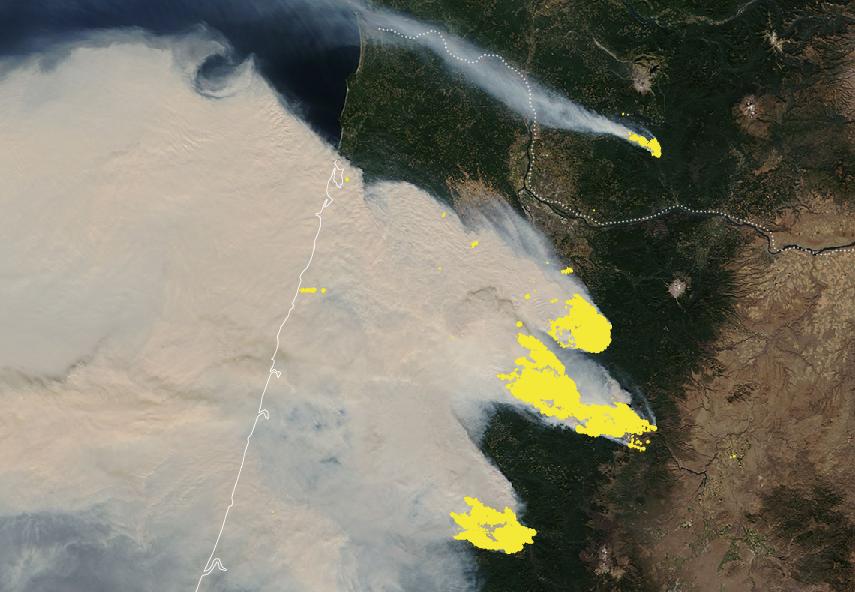 Wildfires: A devastated West Coast