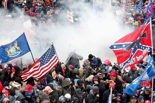 As inauguration nears, law enforcement scrutiny drives U.S. extremists into internet's dark corners