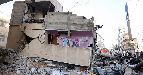 Israel bombs Hamas Gaza chief's home as fighting enters seventh day