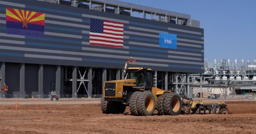 Intel breaks ground on $20 bln Arizona plants as U.S. chip factory race heats up
