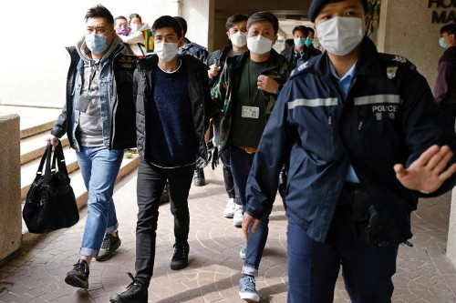 U.S. announces new sanctions on six linked to Hong Kong mass arrests