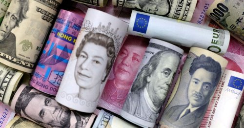 Dollar dips as bonds stabilize, while sterling, NZ dollar gain
