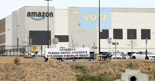 EXCLUSIVE Roughly 500 ballots challenged in Amazon's landmark union election