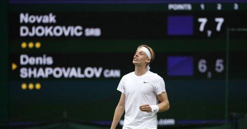 ATP roundup: Denis Shapovalov rallies in St. Petersburg