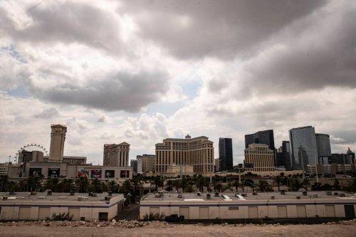 Las Vegas sets temperature record on Monday