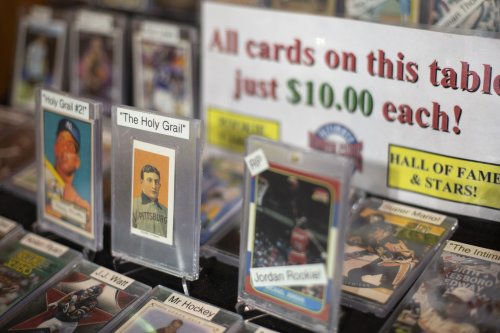 Baseball card business booming with million-dollar pricetags