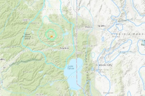 Reno area rattled by evening earthquake
