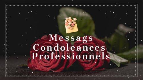 Liste : 49 Meilleurs Messages de Condoléances Professionnels et Sobres pour les collègues - Reviews | Source #1 des Tests, Chroniques, Avis et Nouveautés