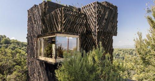 Una cabaña de cuarentena que apuesta por la sostenibilidad