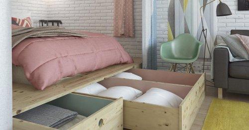 9 CAMAS sin canapé para aprovechar espacios pequeños y ganar ORDEN