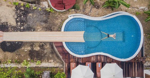 ¿Tu INTERIORISTA te ama o te odia? una piscina con FORMA de RIÑÓN