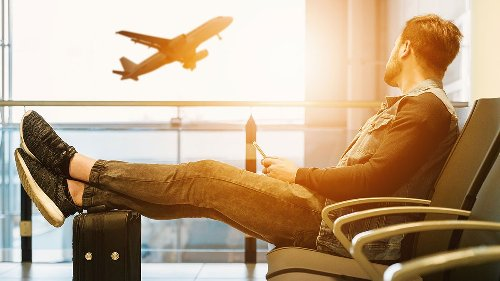 Las últimas compras antes de viajar en avión son las mejores