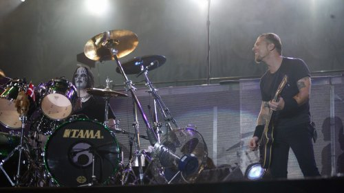 """Corey Taylor: Joey Jordison was """"S******* Bricks"""" Playing with Metallica in 2004"""