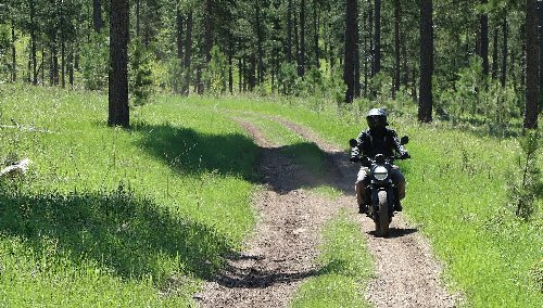 Great adventure motorcycle rides in the Black Hills