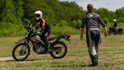 DC Dirt Camp: A street rider learns to be happy with less traction